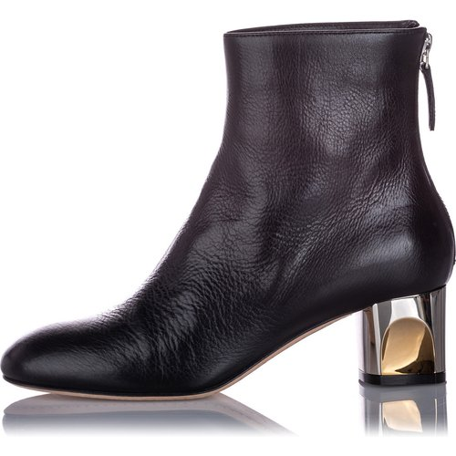 Ankle Leather Boot - Alexander McQueen Vintage - Modalova