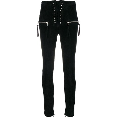 Suede Skinny Lace UP Seam - Unravel Project - Modalova