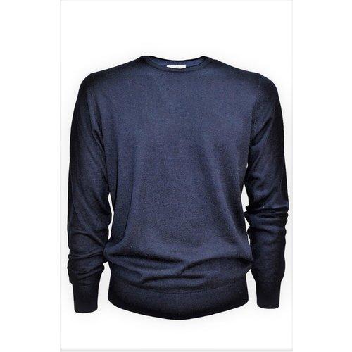 Men's Crew Neck Sweater - Cashmere Company - Modalova