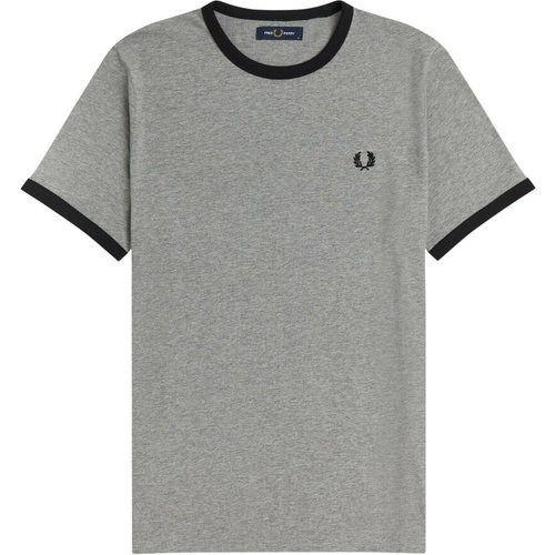 Ringer Tee M3519 682 , , Taille: XL - Fred Perry - Modalova
