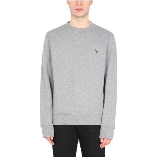 Sweatshirt With Zebra Patch , , Taille: L - PS By Paul Smith - Modalova