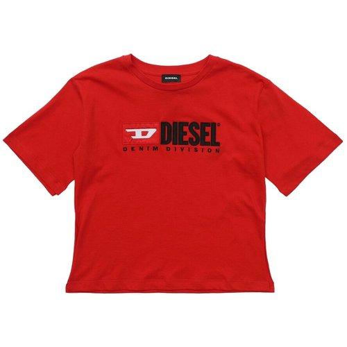 J4Ig 00Yi9 Tjackyd T Shirt AND Tank Girl Scarlet - Diesel - Modalova