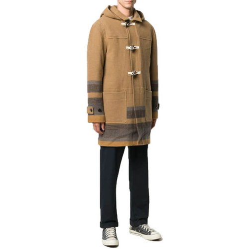 Striped Hem Duffle Coat , , Taille: M - Paul Smith - Modalova