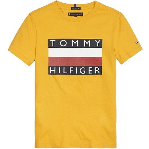 Kb0Kb05547 Essential TEE T Shirt AND Tank Unisex Boys Yellow - Tommy Hilfiger - Modalova