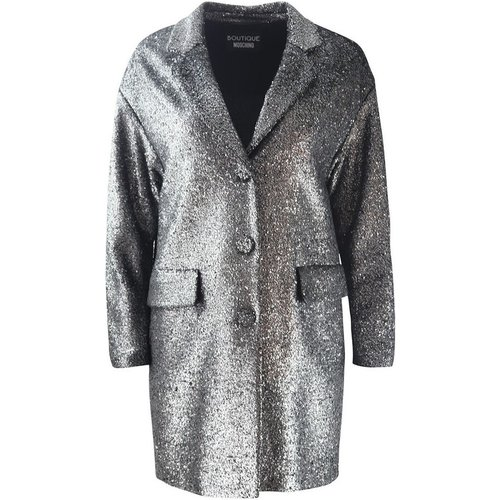 Lurex Coat Boutique Moschino - Boutique Moschino - Modalova