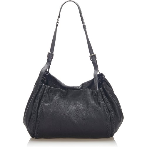 Intrecciato Leather Shoulder Bag - Bottega Veneta Vintage - Modalova