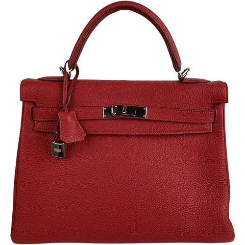 Retourne Kelly 32 Top Handle Bag - Hermès Vintage - Modalova