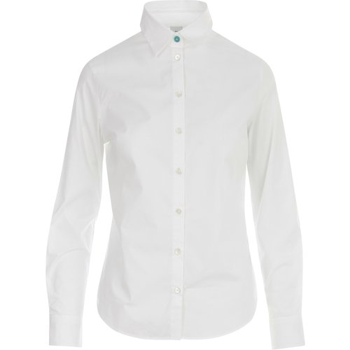 Cotton Stretch Shirt , , Taille: 44 - PS By Paul Smith - Modalova