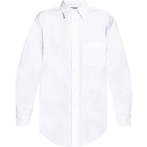 Shirt with logo , , Taille: 40 - Maison Margiela - Modalova