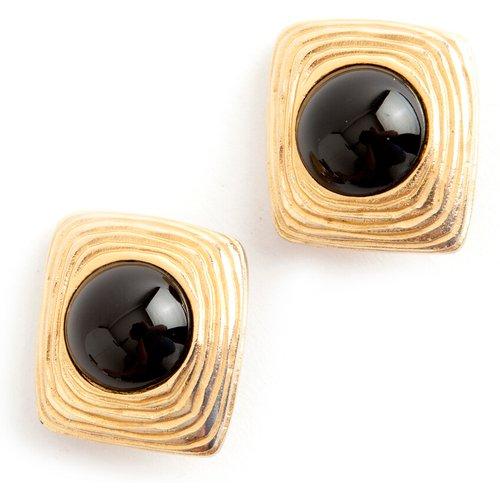 Square clip on earrings - Givenchy Vintage - Modalova