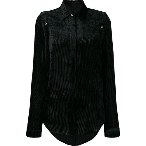 Stripe VEL Open Buttons Shirt - Unravel Project - Modalova