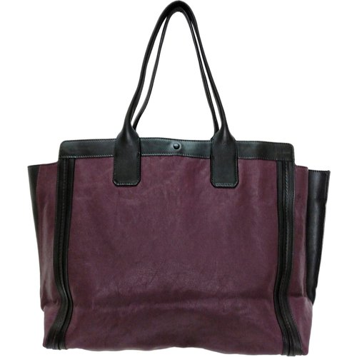 Alison Leather Tote Bag , , Taille: Onesize - Chloé Pre-owned - Modalova
