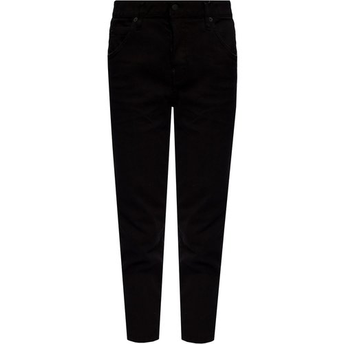 Cool Girl Cropped Jean' jeans with logo , , Taille: 38 IT - Dsquared2 - Modalova