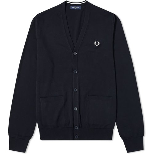 Authentic Cardigan , , Taille: L - Fred Perry - Modalova
