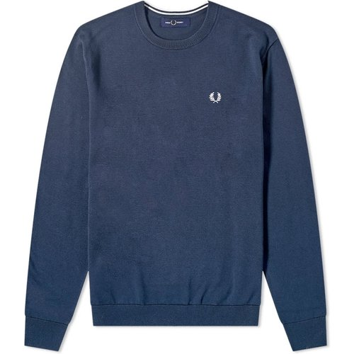 Classic Crew Knitwear , , Taille: XL - Fred Perry - Modalova