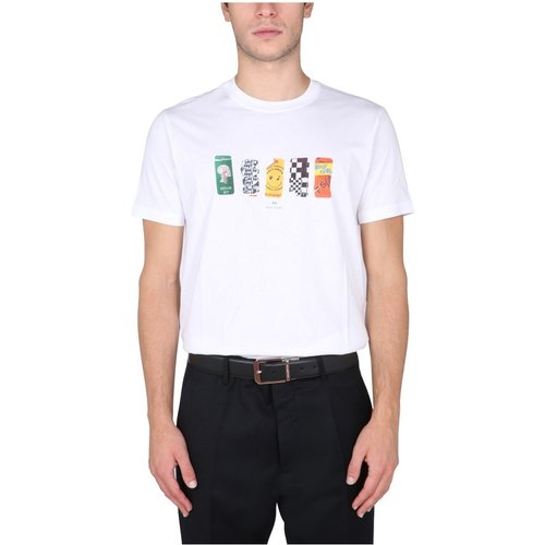 Stickers' T-Shirt , , Taille: 2XL - PS By Paul Smith - Modalova