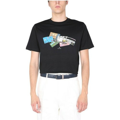 Credit Cards T-Shirt , , Taille: M - PS By Paul Smith - Modalova