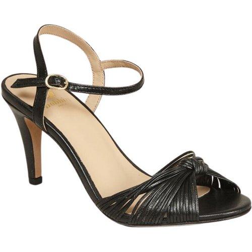 La Cosmique laminated leather sandals - Bobbies Paris - Modalova