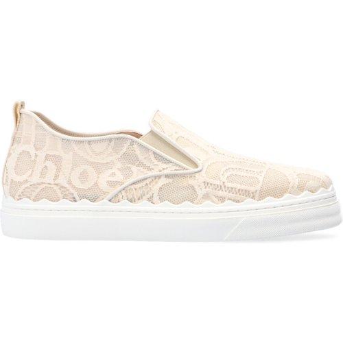 Sneakers with logo , , Taille: 36 - Chloé - Modalova