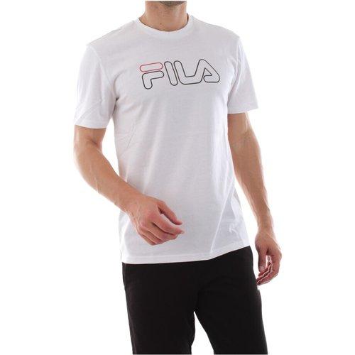 Paul TEE T Shirt AND Tank Men Bright White , , Taille: XS - Fila - Modalova