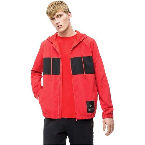 CK Performance 00Gms9O539 Windbreaker Jacket AND Jackets Men RED , , Taille: L - Calvin Klein - Modalova