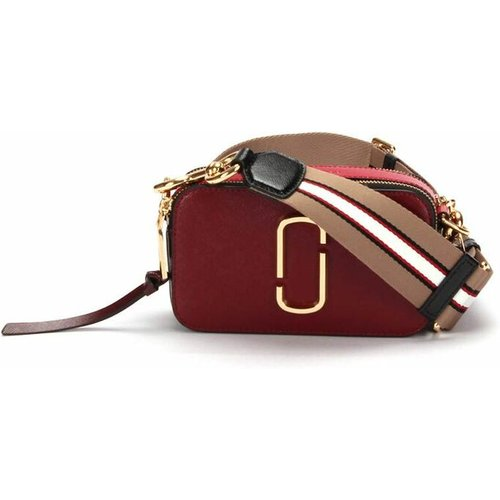 Snapshot Crossbody Bag in calfskin leather , , Taille: Onesize - Marc Jacobs Pre-owned - Modalova