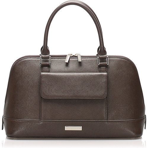 Leather Handbag Burberry Vintage - Burberry Vintage - Modalova