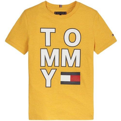 T-Shirt À Manches Courtes Avec Poitrine ET DOS Tommy - Tommy Hilfiger - Modalova