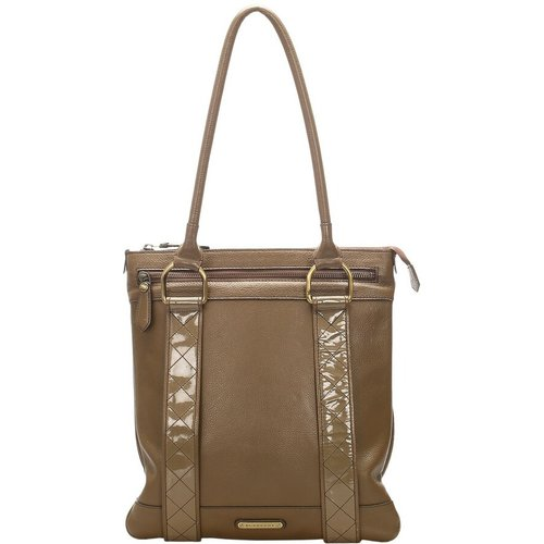 Calf Leather Tote Bag - Burberry Vintage - Modalova
