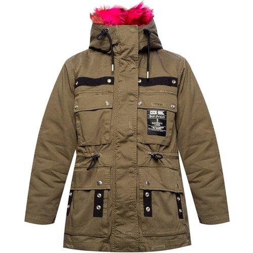 Insulated hooded jacket Diesel - Diesel - Modalova