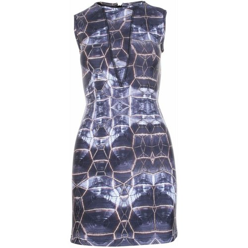 Pre-owned Abstract Printed Dress , , Taille: 3XS - US 0 - Cynthia Rowley Vintage - Modalova