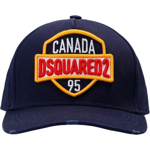 Logo-patché casquette de baseball , , Taille: Onesize - Dsquared2 - Modalova