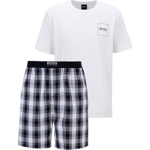 Pyjama avec logo et bermuda Model Urban Short Set - 50450074 - Hugo Boss - Modalova