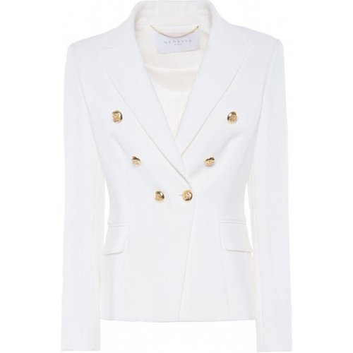 Double Crepe Blazer Jacket 30Bb - Invicta - Modalova