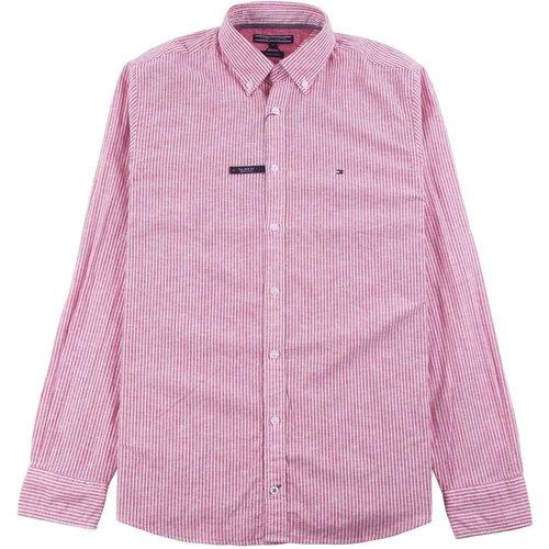 Cotton Linen Stp NF2 Red - Tommy Hilfiger - Modalova