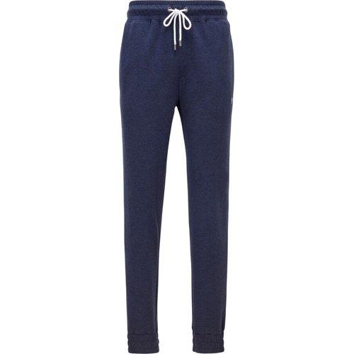 Double-face melange trousers with elastic - Hugo Boss - Modalova