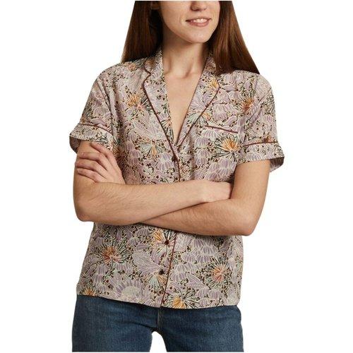 Gil short sleeves floral print silk shirt , , Taille: M - Sessun - Modalova