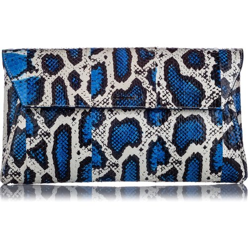 Python Clutch Bag Leather - Alexander McQueen Vintage - Modalova