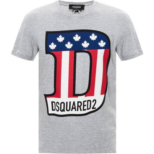 T-shirt à logo imprimé , , Taille: 2XL - Dsquared2 - Modalova