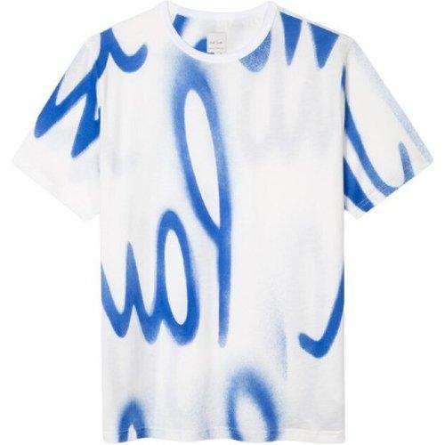 T-shirt à imprimé spray , , Taille: M - Paul Smith - Modalova