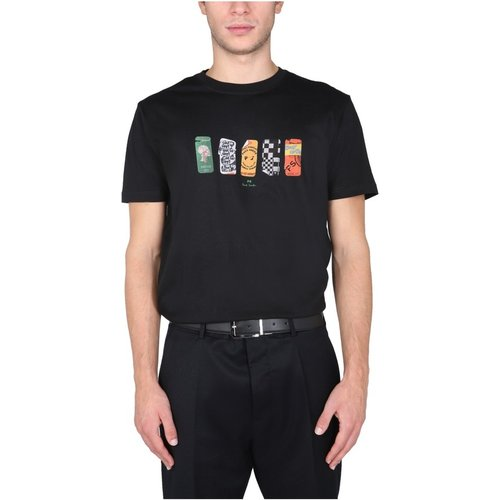Stickers T-Shirt , , Taille: XL - PS By Paul Smith - Modalova