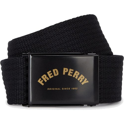 Arch Branded Webbing Belt , , Taille: M - Fred Perry - Modalova