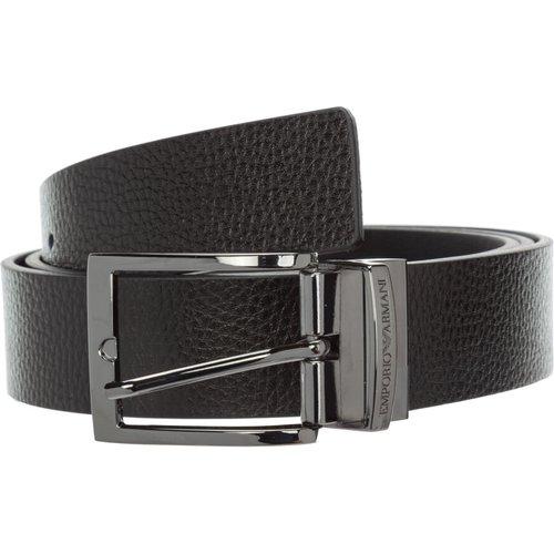 Longueur ceinture réversible - Emporio Armani - Modalova
