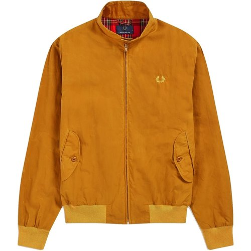 Reissues Made in England Harrington Wax Jacket , , Taille: XL - Fred Perry - Modalova