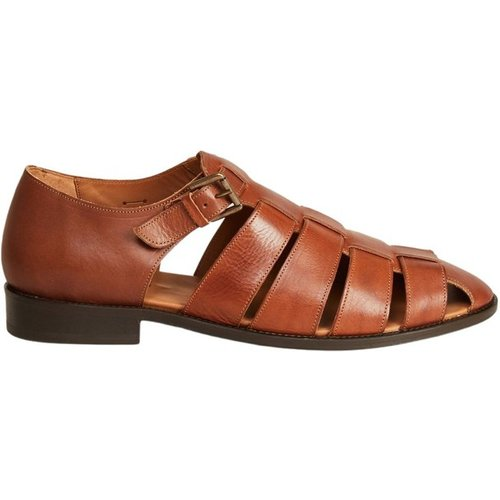 Patras leather sandals - Anthology Paris - Modalova