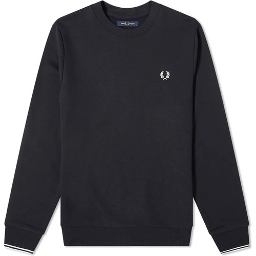 Authentic Crew Sweat , , Taille: S - Fred Perry - Modalova