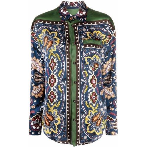 All-over foulard-print shirt , , Taille: 44 IT - Dsquared2 - Modalova