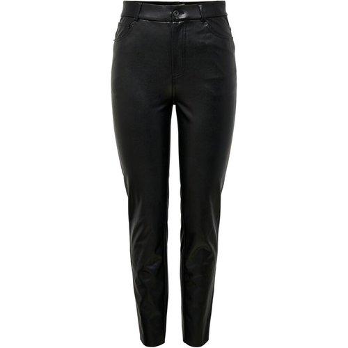 Pantalon en cuir Faux Only - Only - Modalova