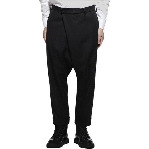 No Pleated Slacks Wool Pants , , Taille: L - Gabriele Pasini - Modalova