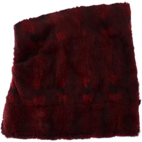 Hamster fourrure Crochet Hat écharpe capot - Dolce & Gabbana - Modalova